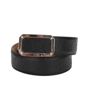 Gucci Cinturón negro Cuero