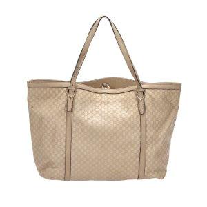 Gucci Tote beige leather