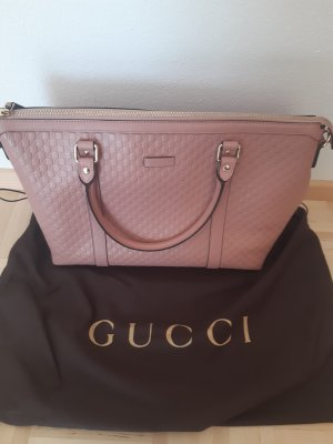Gucci Microguccissima Margaux Satchel Pink - 449655 204991