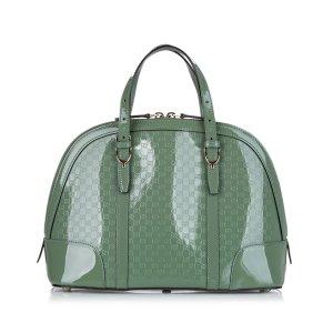 Gucci Sacoche vert faux cuir