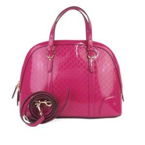Gucci Satchel pink imitation leather