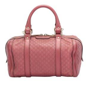Gucci Satchel rosé Leer
