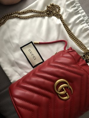 Gucci Buideltas goud-rood