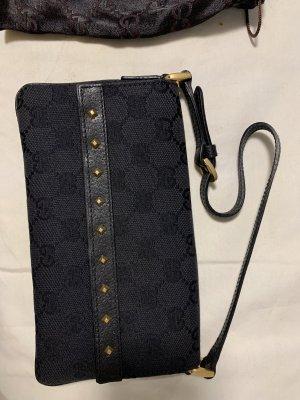 Gucci Borsa clutch nero-oro