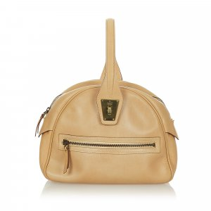 Gucci Mini Dome Leather Handbag