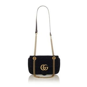 Gucci Torba na ramię czarny Bawełna