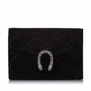 Gucci Mini GG Velvet Dionysus Crossbody Bag