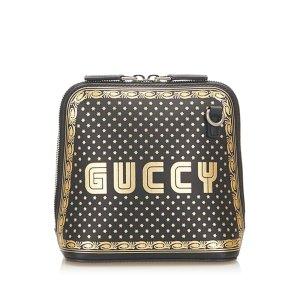 Gucci Gekruiste tas zwart Leer