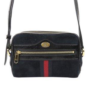 Gucci Mini Ophidia Suede Crossbody Bag