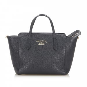 Gucci Mini Swing Leather Satchel