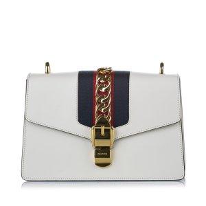 Gucci Mini Sylvie Chain Leather Crossbody Bag