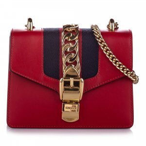 Gucci Mini Sylvie Chain Shoulder Bag