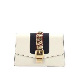 Gucci Mini Sylvie Leather Crossbody Bag