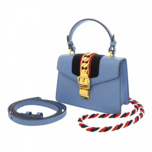 Gucci Mini Sylvie Leather Satchel