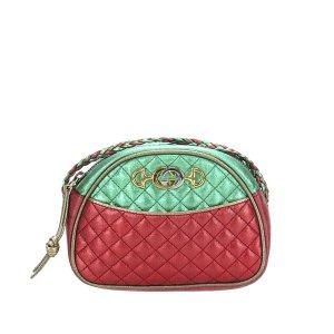 Gucci Mini Trapuntata Leather Crossbody Bag