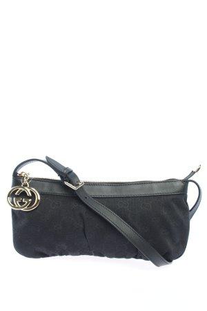 Gucci Minitasche schwarz Motivdruck Casual-Look