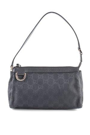 Gucci Mini sac noir imprimé allover style d'affaires