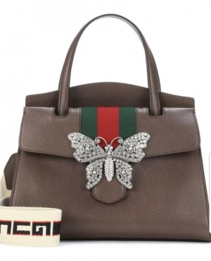 Gucci Carry Bag brown leather