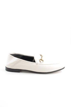 Gucci Mocassins blanc style d'affaires