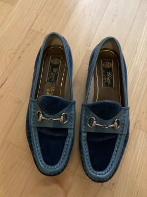 Gucci Mokassins in Blau