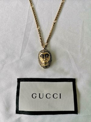 Gucci Collar color oro-negro metal