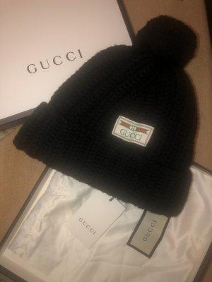 Gucci Casquette gavroche noir-blanc