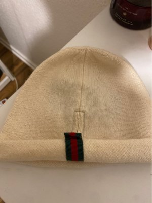 Gucci Fabric Hat natural white