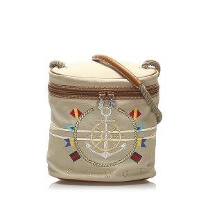 Gucci Nautical Canvas Bucket Bag