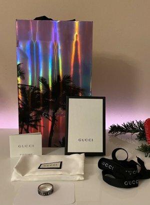 Gucci Anillo de cuentas multicolor metal