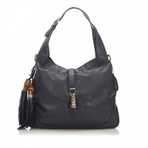 Gucci New Jackie Leather Satchel