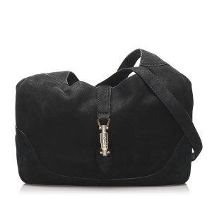 Gucci New Jackie Suede Shoulder Bag
