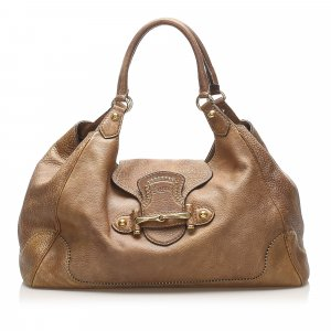 Gucci New Pelham Leather Shoulder Bag