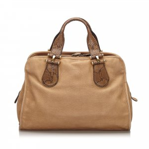 Gucci Nubuck Twice Handbag