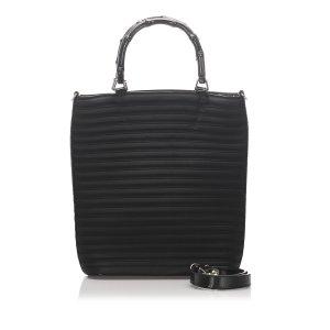 Gucci Satchel black nylon