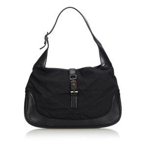 Gucci Nylon Jackie Shoulder Bag