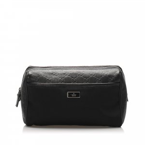 Gucci Pouch Bag black nylon