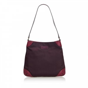 Gucci Shoulder Bag purple nylon