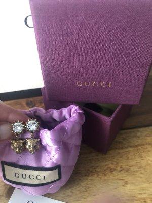Gucci Wiszące kolczyki złoto