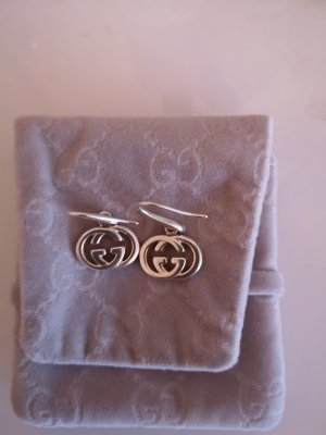 Gucci Silver Earrings silver-colored