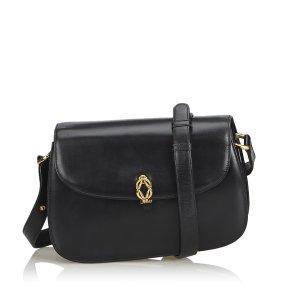 Gucci Old Gucci Leather Shoulder Bag
