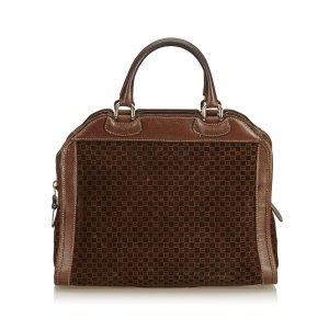 Gucci Old Gucci Suede Handbag