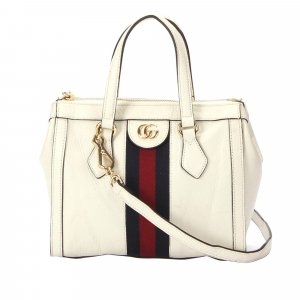 Gucci Ophidia Leather Satchel