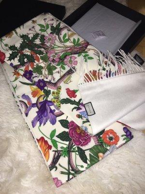 Gucci Sciarpa in cashmere multicolore
