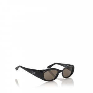 Gucci Oval Tinted Sunglasses