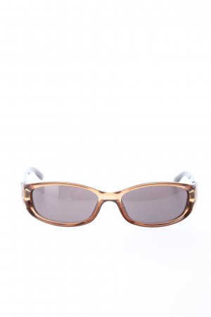Gucci Oval Sunglasses brown casual look