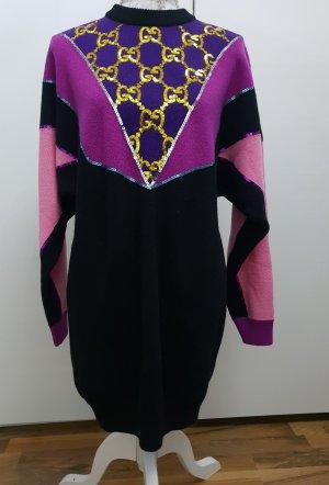 Gucci Robe en laine multicolore