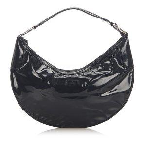 Gucci Bolsa Hobo negro Imitación de cuero