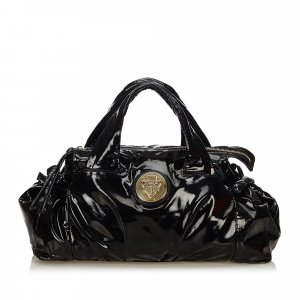 Gucci Patent Leather Hysteria Handbag