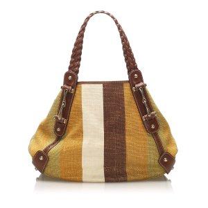 Gucci Pelham Canvas Shoulder Bag