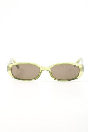 Gucci Aviator Glasses primrose-brown casual look